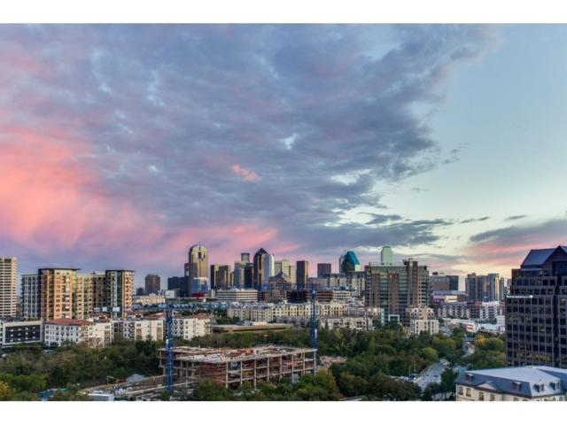 3225 Turtle Creek Boulevard #1220, Dallas, TX 75219 (MLS #13897220) :: Team Hodnett