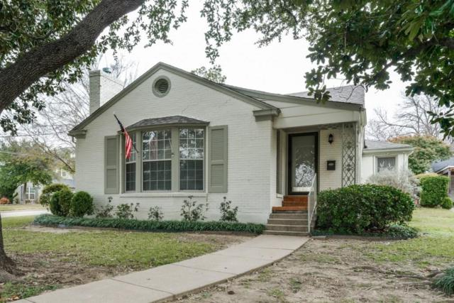 2601 Highview Terrace, Fort Worth, TX 76109 (MLS #13897238) :: The Mitchell Group