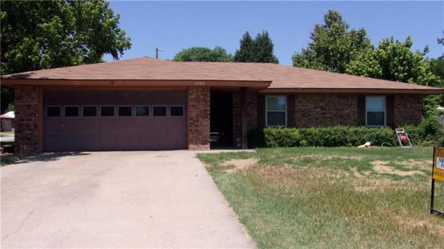 1200 Hidalgo Street, Bowie, TX 76230 (MLS #13897244) :: Century 21 Judge Fite Company