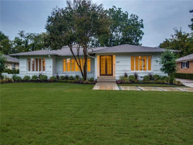 6441 Park Lane, Dallas, TX 75225 (MLS #13897273) :: Frankie Arthur Real Estate