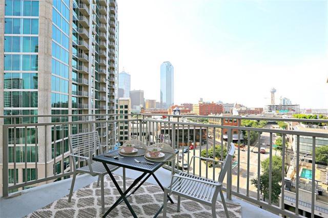 2323 N Houston Street #705, Dallas, TX 75219 (MLS #13897684) :: Team Hodnett