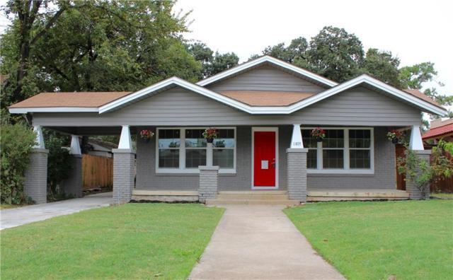 1617 N Sylvania Avenue, Fort Worth, TX 76111 (MLS #13897743) :: Team Hodnett