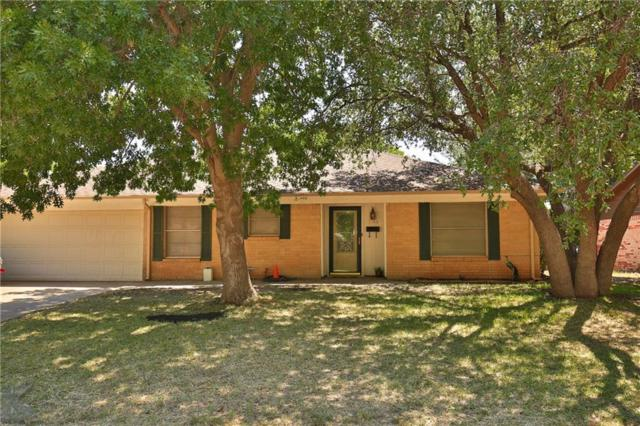 2433 Brentwood Drive, Abilene, TX 79605 (MLS #13897913) :: The Real Estate Station