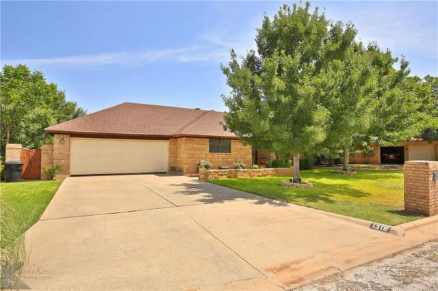 1318 Squires Road, Abilene, TX 79602 (MLS #13897974) :: Team Hodnett