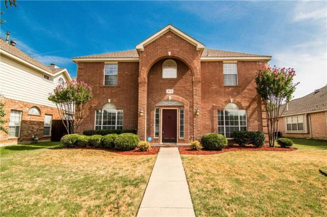 417 Dumas Court, Lewisville, TX 75067 (MLS #13898050) :: RE/MAX Landmark