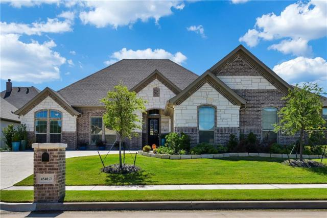 4540 Fairway View Drive, Fort Worth, TX 76008 (MLS #13898452) :: Robbins Real Estate Group