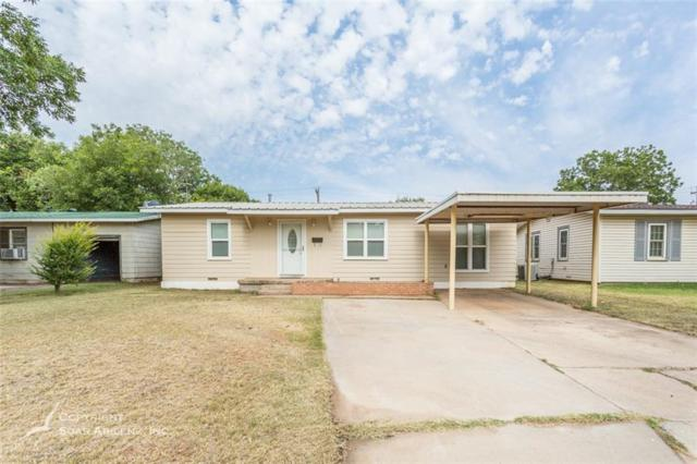 1310 S Bowie Drive, Abilene, TX 79605 (MLS #13899282) :: The Chad Smith Team