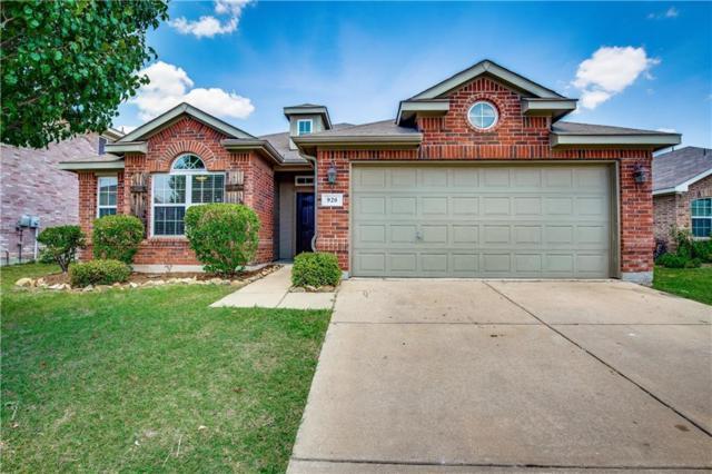 920 Johnson City Avenue, Forney, TX 75126 (MLS #13899313) :: Team Hodnett