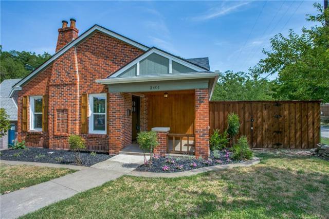 3401 Gibsondell Avenue, Dallas, TX 75211 (MLS #13899598) :: Team Hodnett