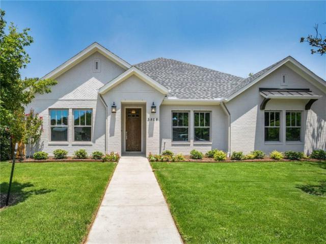 5804 Straley Avenue, Westworth Village, TX 76114 (MLS #13899831) :: Team Hodnett