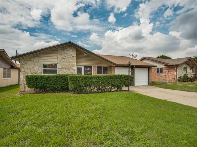 2515 Glacier Street, Irving, TX 75062 (MLS #13900501) :: Robbins Real Estate Group