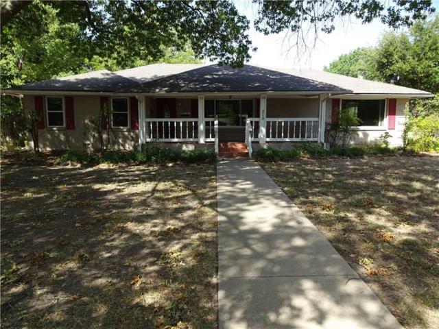 215 Overhill Drive, Waxahachie, TX 75165 (MLS #13900749) :: Team Hodnett