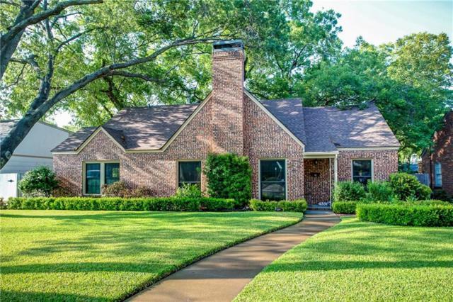 4331 Lovell Avenue, Fort Worth, TX 76107 (MLS #13900954) :: Team Hodnett
