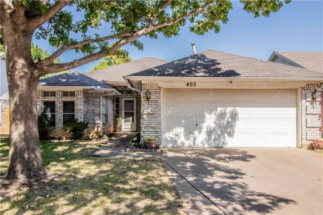 403 Nita Lane, Euless, TX 76040 (MLS #13901239) :: Team Hodnett