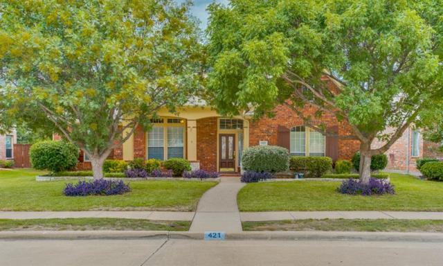 421 Sunrise Drive, Allen, TX 75002 (MLS #13901678) :: Team Hodnett