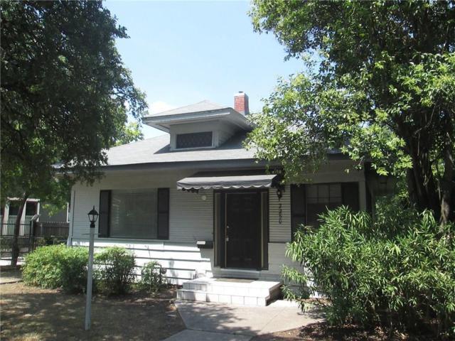 2250 Lipscomb Street, Fort Worth, TX 76110 (MLS #13901730) :: Team Hodnett