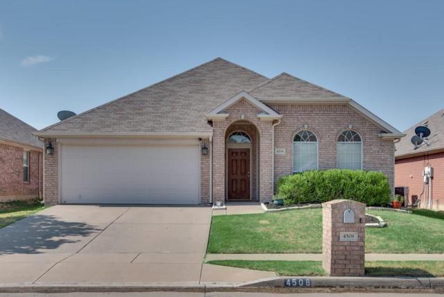 4508 Dragonfly Way, Fort Worth, TX 76244 (MLS #13902302) :: Team Hodnett