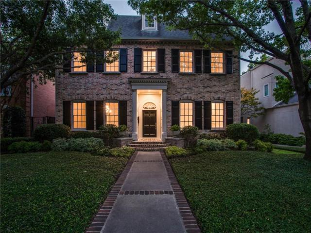 3517 Potomac Avenue, Highland Park, TX 75205 (MLS #13902620) :: Team Hodnett