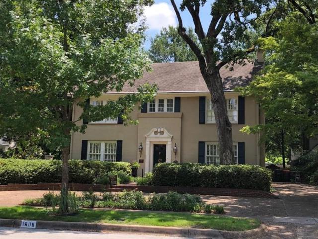 1608 S Chilton Avenue, Tyler, TX 75701 (MLS #13903368) :: Team Hodnett
