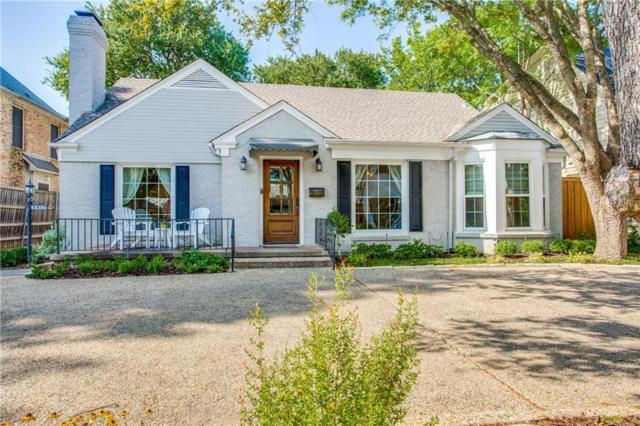 4413 Bryn Mawr Drive, University Park, TX 75225 (MLS #13904429) :: Team Hodnett
