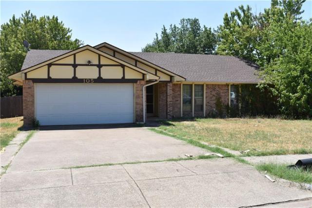 105 Haywood Drive, Benbrook, TX 76126 (MLS #13904579) :: Team Hodnett