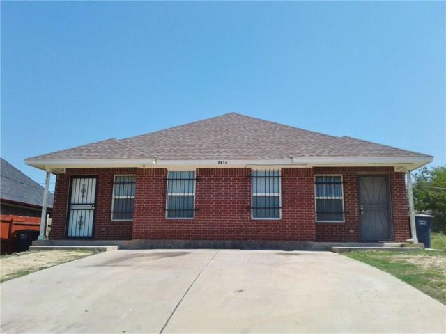 2612 22nd Street, Fort Worth, TX 76106 (MLS #13904807) :: Team Tiller