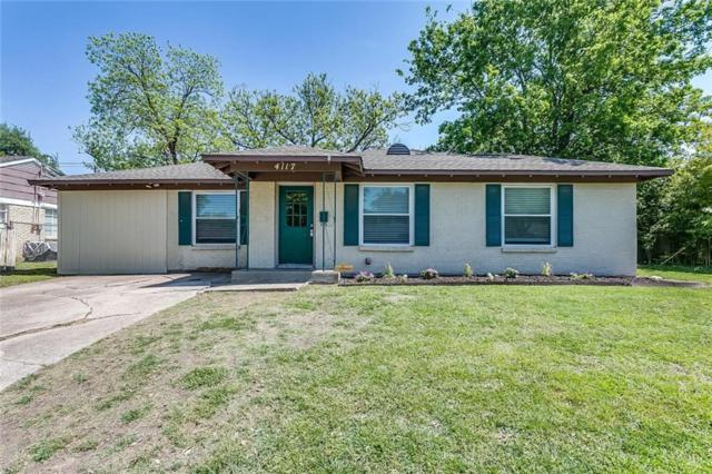 4117 Winfield Avenue, Fort Worth, TX 76109 (MLS #13905161) :: RE/MAX Town & Country