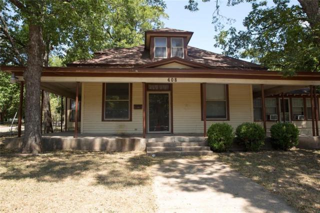 408 W Decatur Street, Ennis, TX 75119 (MLS #13905263) :: The Real Estate Station