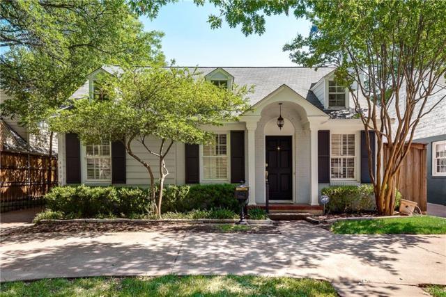 4409 Mockingbird Lane, Highland Park, TX 75205 (MLS #13905298) :: Team Hodnett