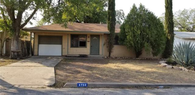 2720 Raney Street, San Angelo, TX 76901 (MLS #13906147) :: The Real Estate Station
