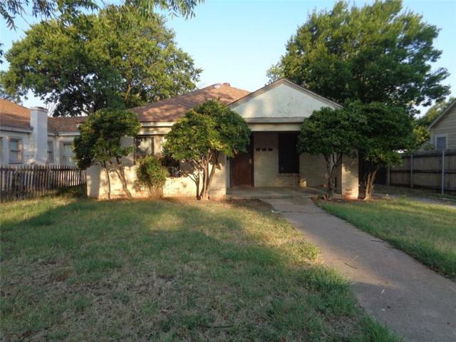 866 Grand Avenue, Abilene, TX 79605 (MLS #13906493) :: Team Hodnett