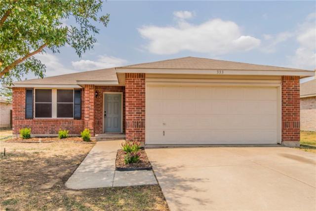 333 Indian Blanket Drive, Burleson, TX 76028 (MLS #13906867) :: Magnolia Realty