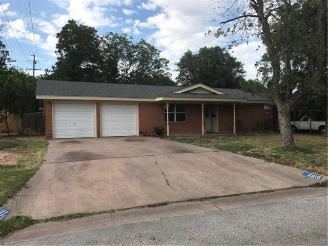 2610 Edgemont Drive, Abilene, TX 79605 (MLS #13906913) :: Team Hodnett