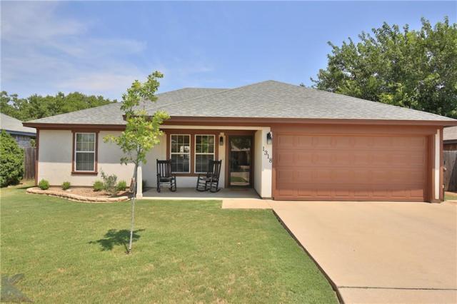 1318 Seamans Way, Abilene, TX 79602 (MLS #13906963) :: Team Hodnett