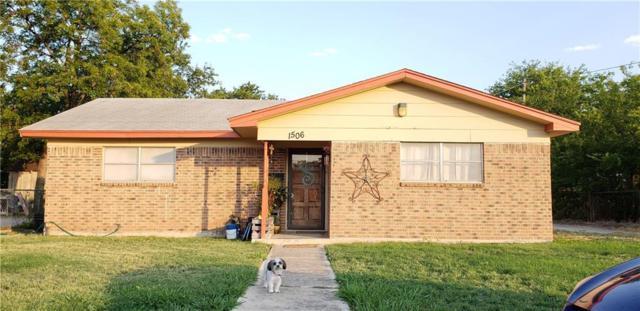 1506 Avenue G, Brownwood, TX 76801 (MLS #13907271) :: The Real Estate Station