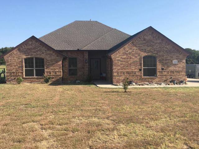 143 Brady Coleman Lane, Springtown, TX 76082 (MLS #13907534) :: Team Hodnett