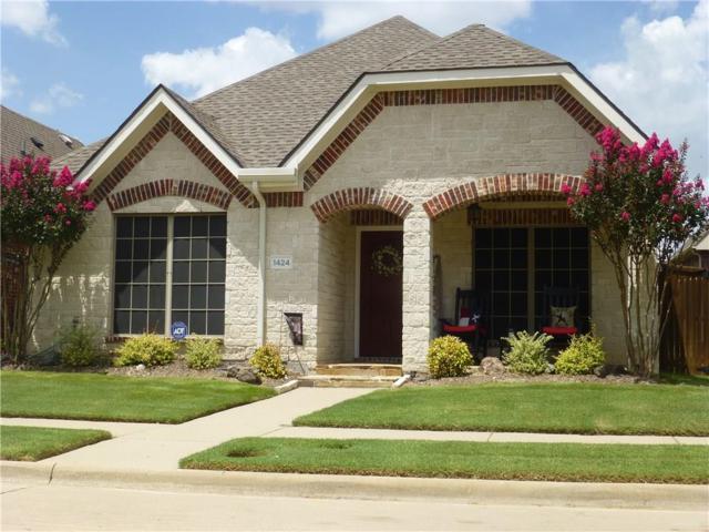 1424 Snowberry Drive, Allen, TX 75013 (MLS #13907630) :: Team Hodnett