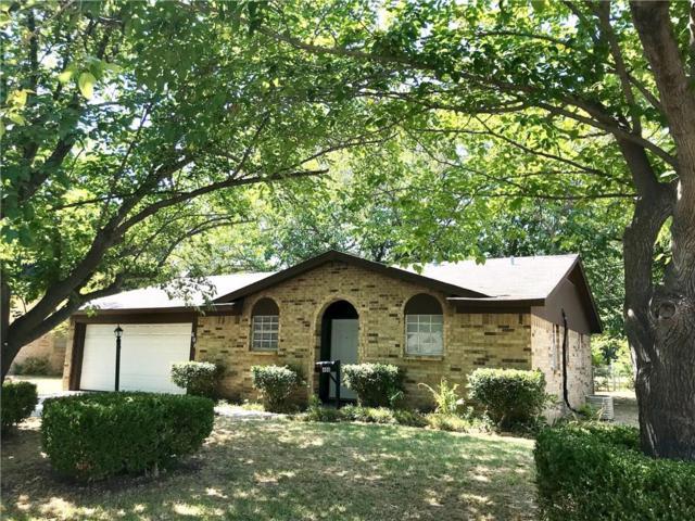 408 Gregory Street, Burleson, TX 76028 (MLS #13908058) :: Team Hodnett