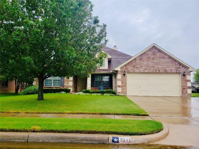 1041 Saint Andrews Drive, Burleson, TX 76028 (MLS #13908082) :: Fort Worth Property Group