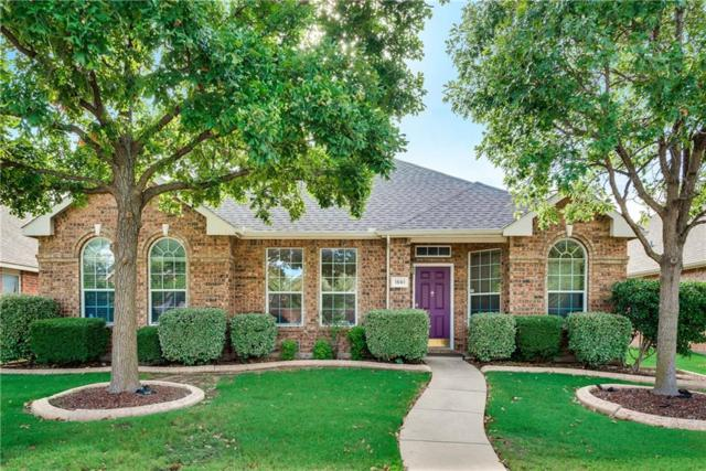 1561 Mahogany Drive, Allen, TX 75002 (MLS #13908553) :: The Rhodes Team