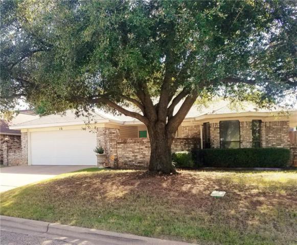 12 Queen Anns Lace, Abilene, TX 79606 (MLS #13908559) :: Team Hodnett