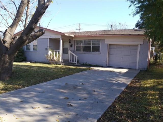 1628 Hillcrest Street, Mesquite, TX 75149 (MLS #13908577) :: Team Hodnett