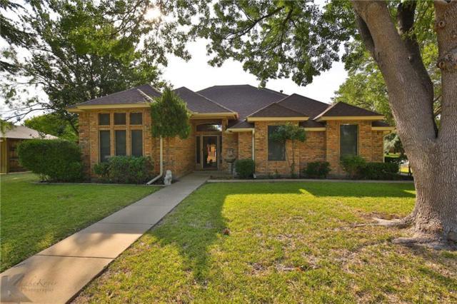 2141 Crestline Drive, Abilene, TX 79602 (MLS #13909071) :: Team Hodnett