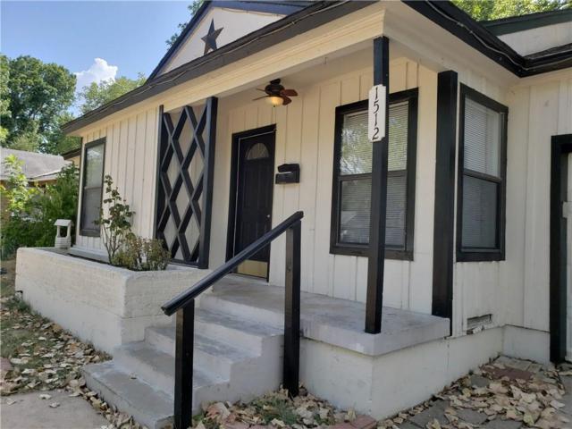 1512 Kelly Terrace, Arlington, TX 76010 (MLS #13909136) :: Team Hodnett
