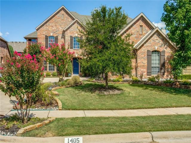 1405 Haddington Lane, Keller, TX 76248 (MLS #13909517) :: Fort Worth Property Group