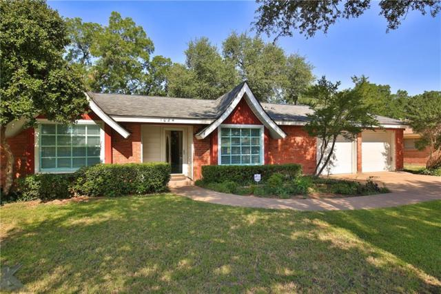 1024 Richland Drive, Abilene, TX 79603 (MLS #13909786) :: Team Hodnett