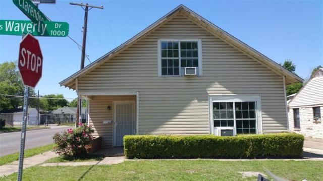 1025 S Waverly Drive, Dallas, TX 75208 (MLS #13910121) :: Team Hodnett