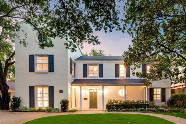 4640 Southern Avenue, Highland Park, TX 75209 (MLS #13910139) :: Team Hodnett