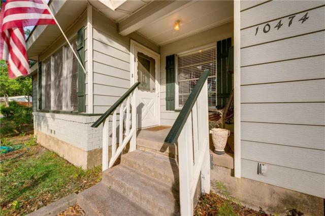 10474 Benbrook Drive, Dallas, TX 75228 (MLS #13910419) :: Team Hodnett