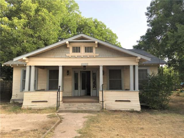 318 W Willingham Street, Cleburne, TX 76033 (MLS #13910643) :: Fort Worth Property Group